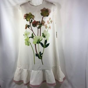 Victoria Beckham for Target Shift Floral  Dress